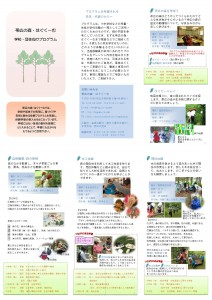 はぐくーむ体験プログラム集(2016.1)